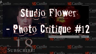 Studio Flower - Photography Critique #12