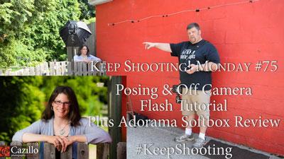 Posing & Off Camera Flash Tutorial