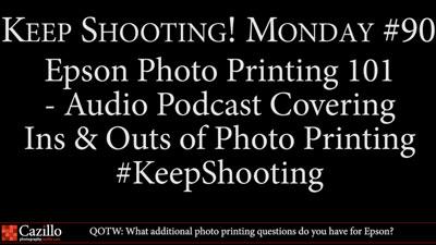 Photo Printing 101 with Epson