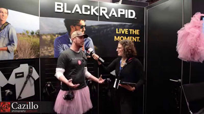 BlackRapid Interview at PhotoPlus Expo