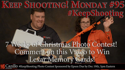 Giving Away More FREE Gear in the 7 Weeks of Christmas Photo Contest