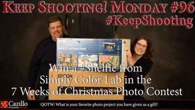 Win a #Shelfie from Simply Color Lab in the 7 Weeks of Christmas Photo Contest