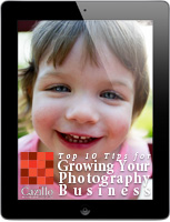 Top 10 Tips for Growing Your Photo Business, Written by Gregory Cazillo