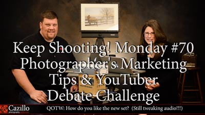 Photographer's Marketing Tips & YouTuber Debate Challenge