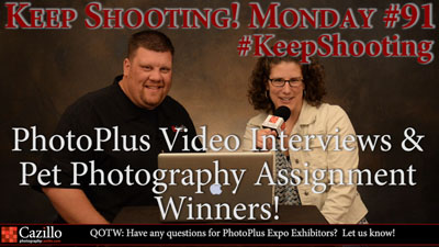 PhotoPlus Video Interviews & Pet Photography Assignment Winners