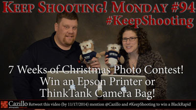 7 Weeks of Christmas Photo Contest - Win an Epson Printer!