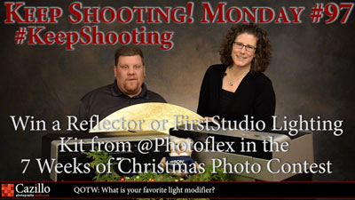 This Week Only Win a PhotoFlex Reflector or Lighting Kit!