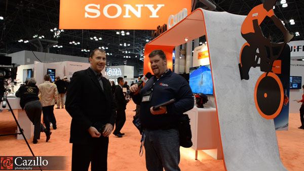 Senior Product Information Manager from Sony's Digital Imaging Division Interview