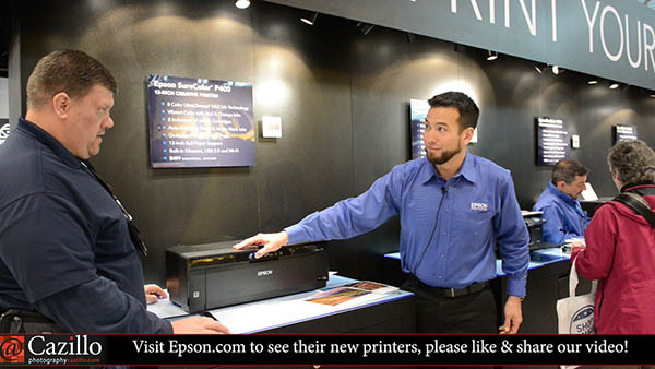 Epson P400, P600 and P800 Printer Overview