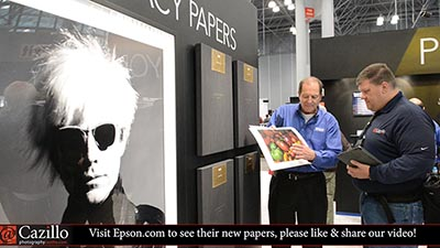 New Epson Legacy Photo Fine Art Papers