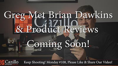 How Greg met Brian Dawkins & Upcoming Product Reviews