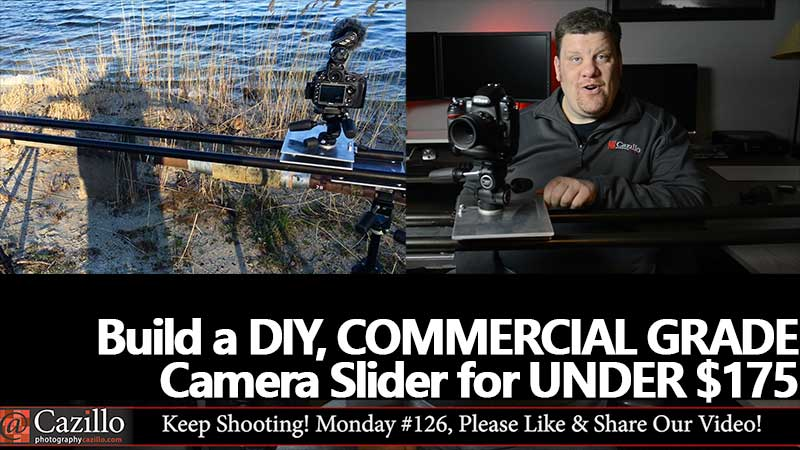 DIY COMMERCIAL GRADE Camera Slider Under $175