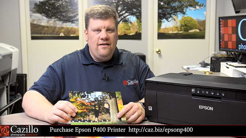 Epson SureColor P400 Photo Printer Review