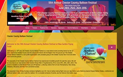 Chester County Hot Air Balloon Festival